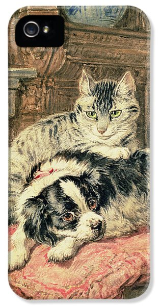 Playtime IPhone 5 / 5s Case by Henriette Ronner-Knip