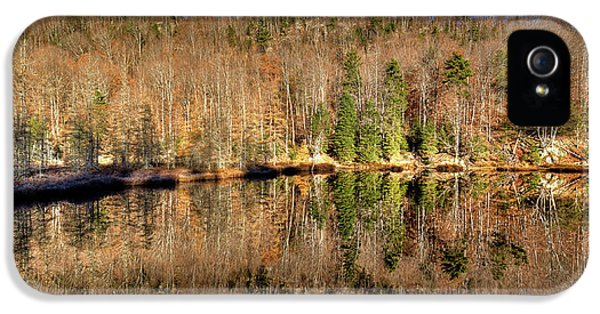 IPhone 5 Case featuring the photograph Pond Reflections by David Patterson