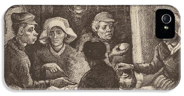 Potato Eaters, 1885 IPhone 5 Case