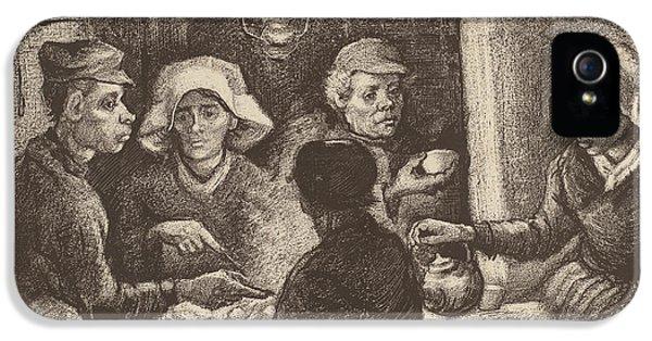 Potato Eaters, 1885 IPhone 5 Case by Vincent Van Gogh