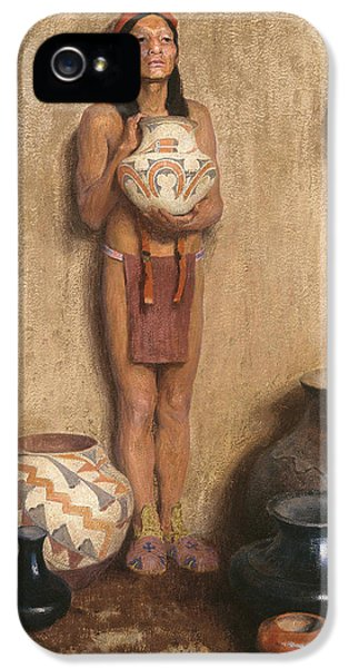 Pottery Vendor IPhone 5 Case by Eanger Irving Couse
