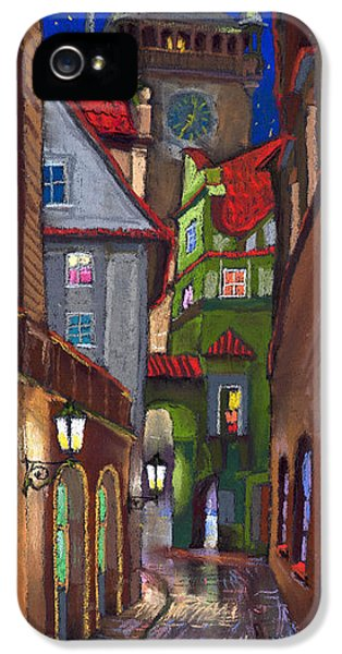 Prague Old Street  IPhone 5 Case