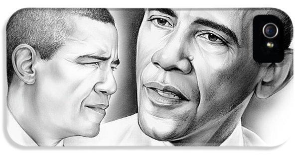President Barack Obama IPhone 5 Case by Greg Joens