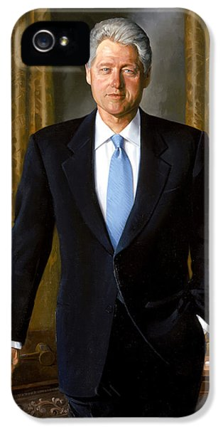 President Bill Clinton IPhone 5 Case