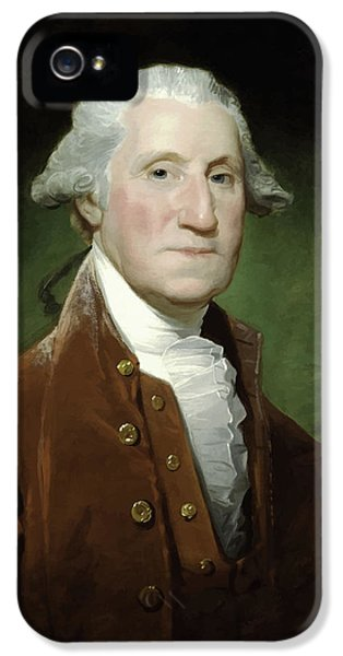 President George Washington  IPhone 5 Case