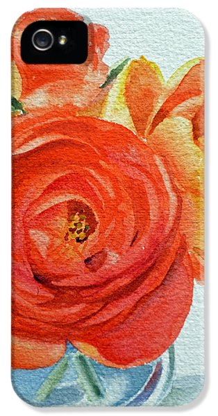 Ranunculus IPhone 5 Case
