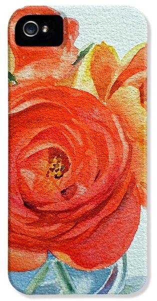 Ranunculus IPhone 5 Case by Irina Sztukowski