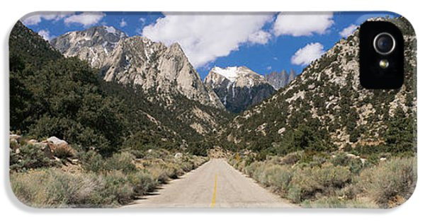 Road Through Desert IPhone 5 Case by Panoramic Images