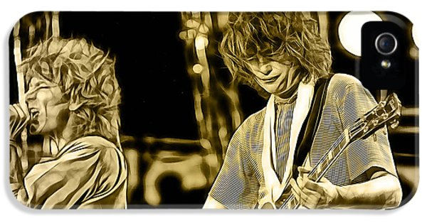 Robert Plant And Jimmy Page IPhone 5 Case