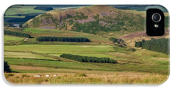 Scotland View From The English Borders IPhone 5 Case by Jeremy Lavender Photography