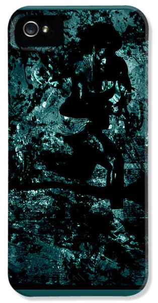 Serena Williams iPhone 5 Case - Serena Williams Work Of Art by Brian Reaves