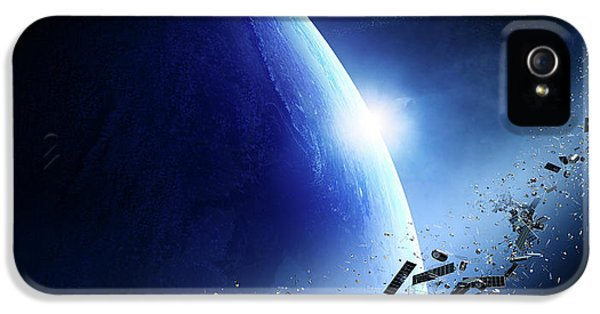 Space Junk Orbiting Earth IPhone 5 Case