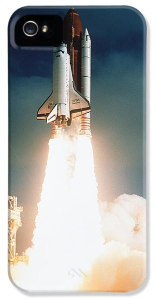 Space Shuttle Launch IPhone 5 Case by NASA Science Source