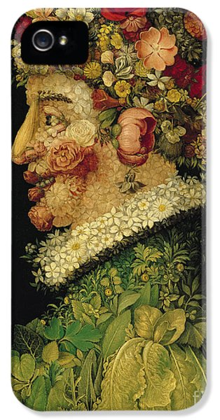 Spring IPhone 5 Case by Giuseppe Arcimboldo