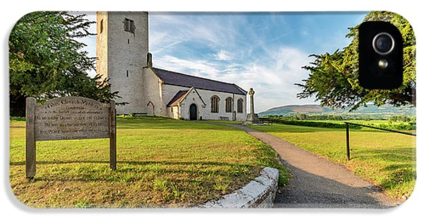 St Marcellas Church IPhone 5 Case by Adrian Evans