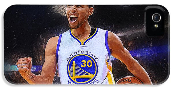 Stephen Curry IPhone 5 / 5s Case by Semih Yurdabak