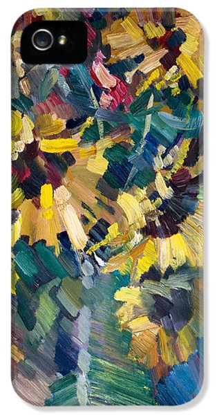 Sunflowers IPhone 5 / 5s Case by Nikolay Malafeev