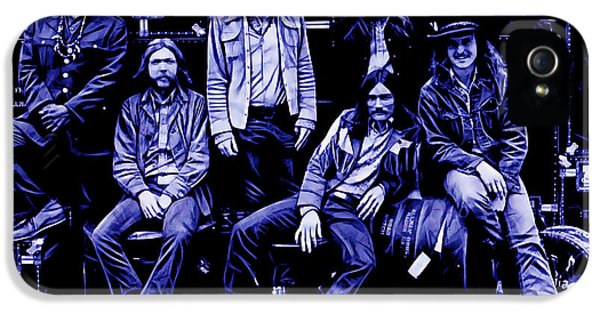 The Allman Brothers Collection IPhone 5 Case by Marvin Blaine