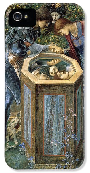 The Baleful Head IPhone 5 Case by Edward Burne-Jones