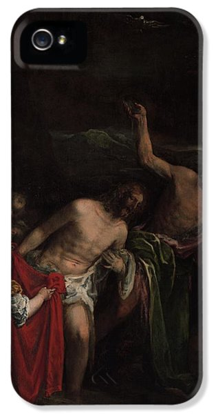 The Baptism Of Christ IPhone 5 Case by MotionAge Designs