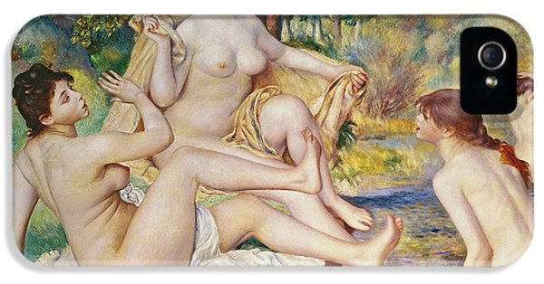 The Bathers IPhone 5 / 5s Case by Pierre Auguste Renoir