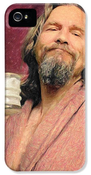 The Dude IPhone 5 Case