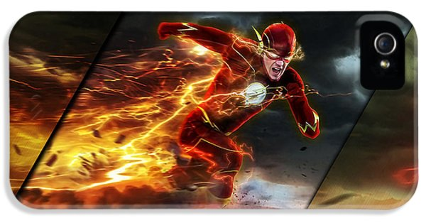 The Flash Collection IPhone 5 Case by Marvin Blaine