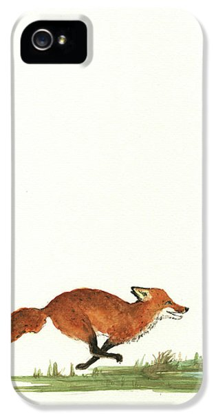 The Fox And The Pelicans IPhone 5 Case