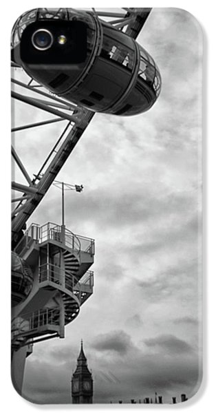 The London Eye IPhone 5 Case by Martin Newman