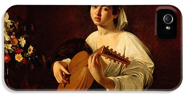 Music iPhone 5 Case - The Lute-player by Caravaggio
