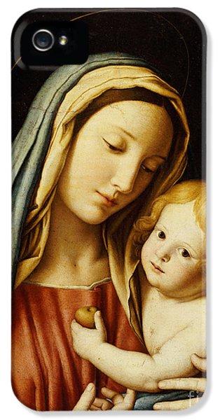 The Madonna And Child IPhone 5 Case by Il Sassoferrato