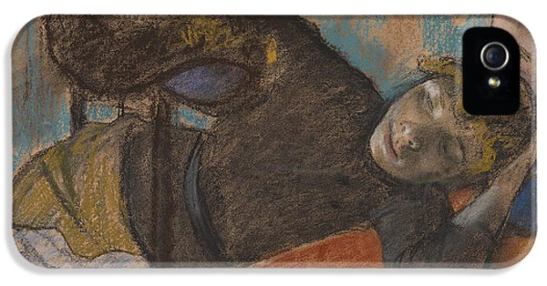 The Milliner IPhone 5 Case by Edgar Degas