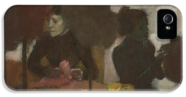 The Milliners IPhone 5 Case by Edgar Degas