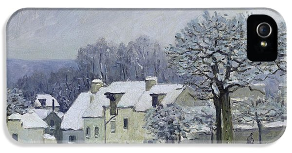 The Place Du Chenil At Marly Le Roi IPhone 5 Case by Alfred Sisley