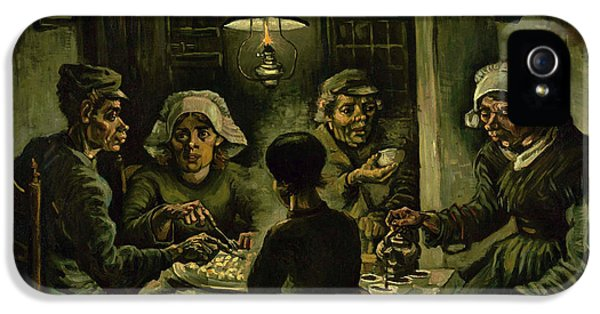 The Potato Eaters, 1885 IPhone 5 Case