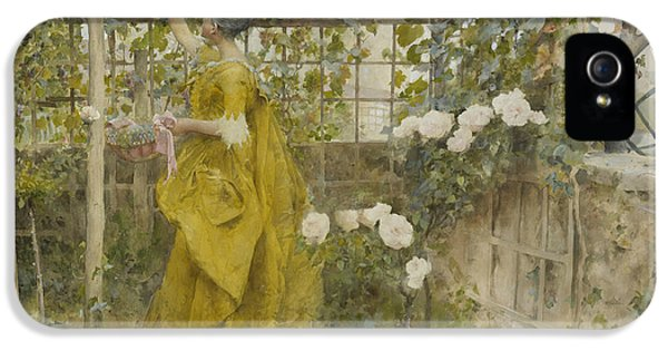 The Vine IPhone 5 Case by Carl Larsson