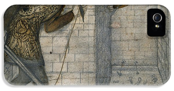 Theseus And The Minotaur In The Labyrinth IPhone 5 / 5s Case by Edward Burne-Jones