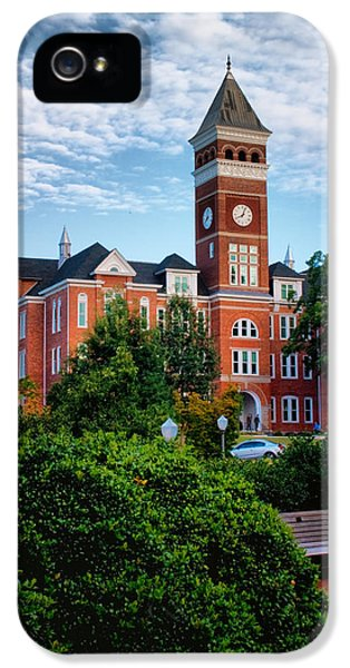 Clemson iPhone 5 Case - Tillman Hall by Lynne Jenkins