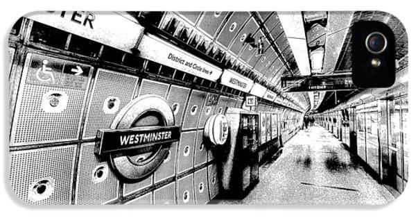 Underground London Art IPhone 5 Case