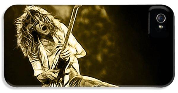 Van Halen Eddie Van Halen Collection IPhone 5 Case by Marvin Blaine