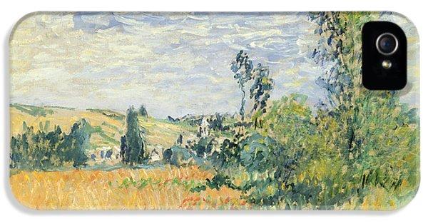 Vetheuil IPhone 5 Case by Claude Monet