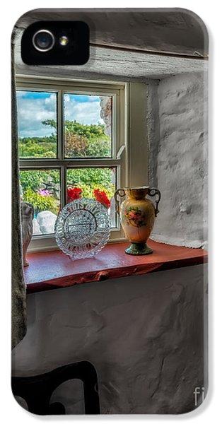 Victorian Window  IPhone 5 Case by Adrian Evans