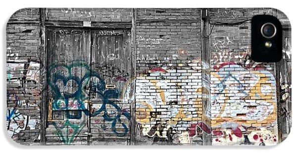 Warehouse In Lisbon IPhone 5 Case by Ehiji Etomi