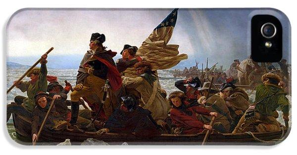 Washington Crossing The Delaware IPhone 5 Case