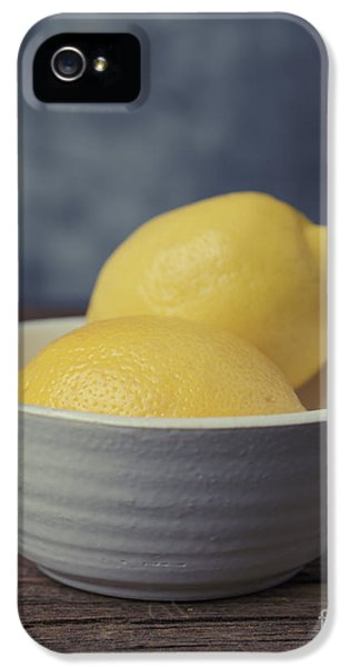 Lemon iPhone 5 Case - When Life Gives You Lemons by Edward Fielding