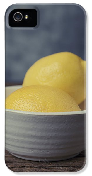 When Life Gives You Lemons IPhone 5 Case by Edward Fielding