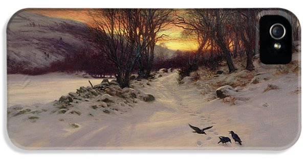 When The West With Evening Glows IPhone 5 / 5s Case by Joseph Farquharson