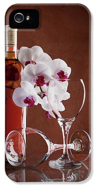 Wine And Orchids Still Life IPhone 5 Case
