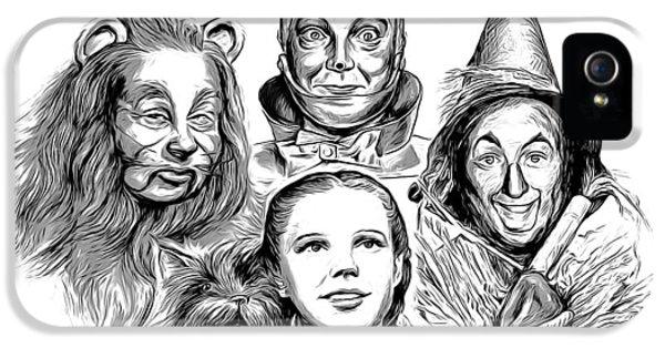 Wizard iPhone 5 Case - Wizard Of Oz by Greg Joens