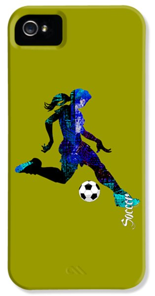 Womens Girls Soccer Collection IPhone 5 Case